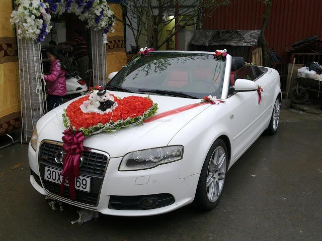 Xe cưới mui trần Audi A4