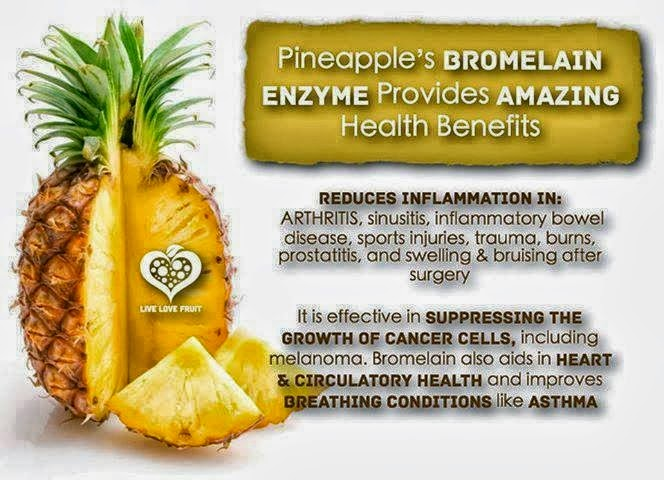 8 Amazing Health Benefits Of Pineapple