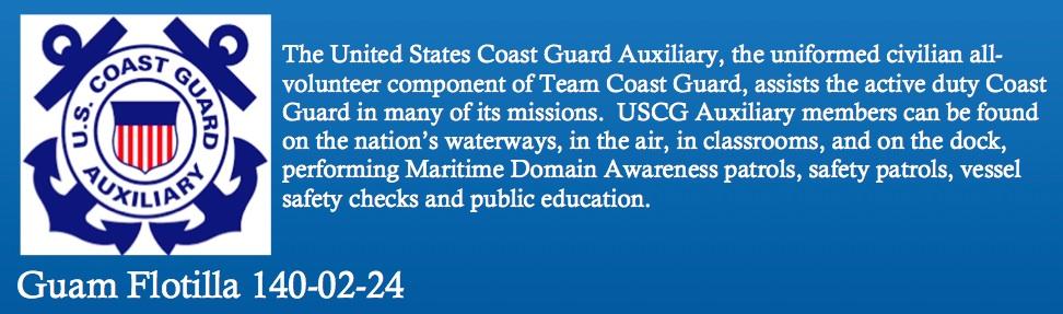 USCG Auxiliary Guam