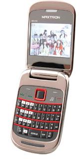 harga maxtron chibi MG318 terbaru, ponsel desain lipat buat cewe, hp lipat harga di bawah sejuta, kelebihan maxtron chibi