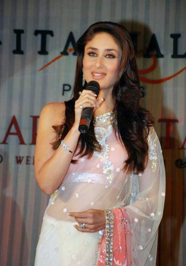 Kareena Kapoor in Saree Stills
