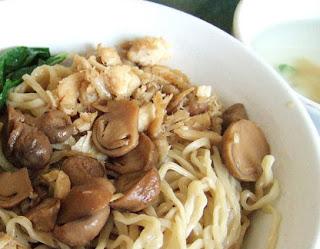 Chicken Mushroom Noodles Mie Ayam Jamur