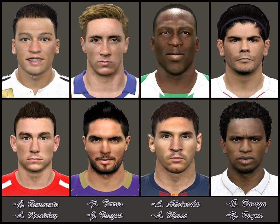 [PES 2015] New FacePack Internacional N°2 by Euler
