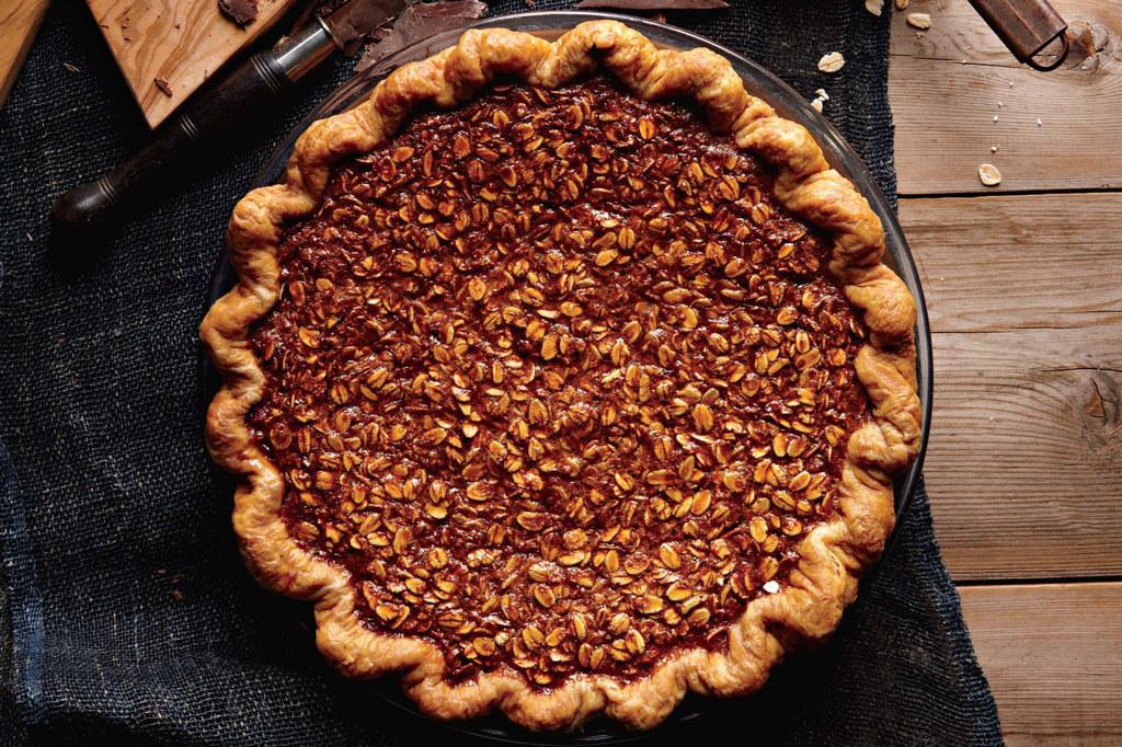 International food blog: AMERICAN: Chocolate Pies from ...