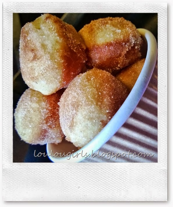 Baked Churro Bites, shared by Lou Lou Girls