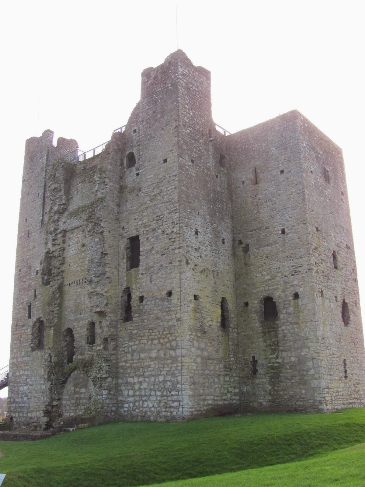 Trim Castle Keep in Trim, Ireland