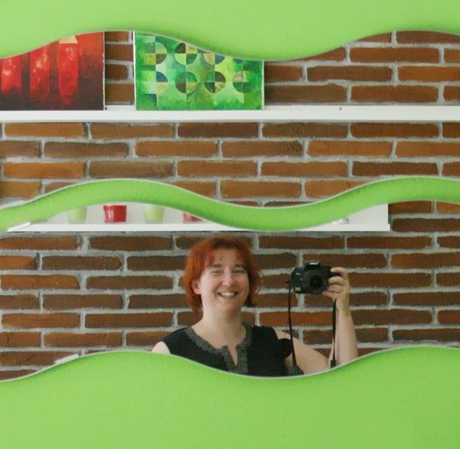Steffi Bellis Klunkerfisch im Laden in Halle