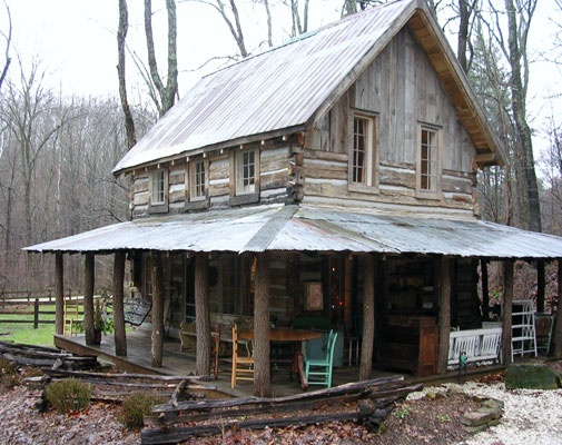 Restored Old Log Cabins