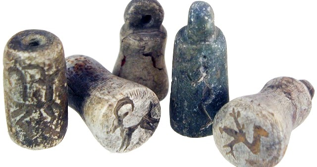 Sadigh Gallery Ancient Art Stamp And Cylinder Seals Of