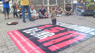 Asamblea del 15M En el parque de la Corredera