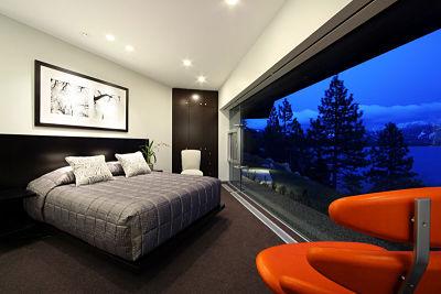 Dormitorio de forma irregular