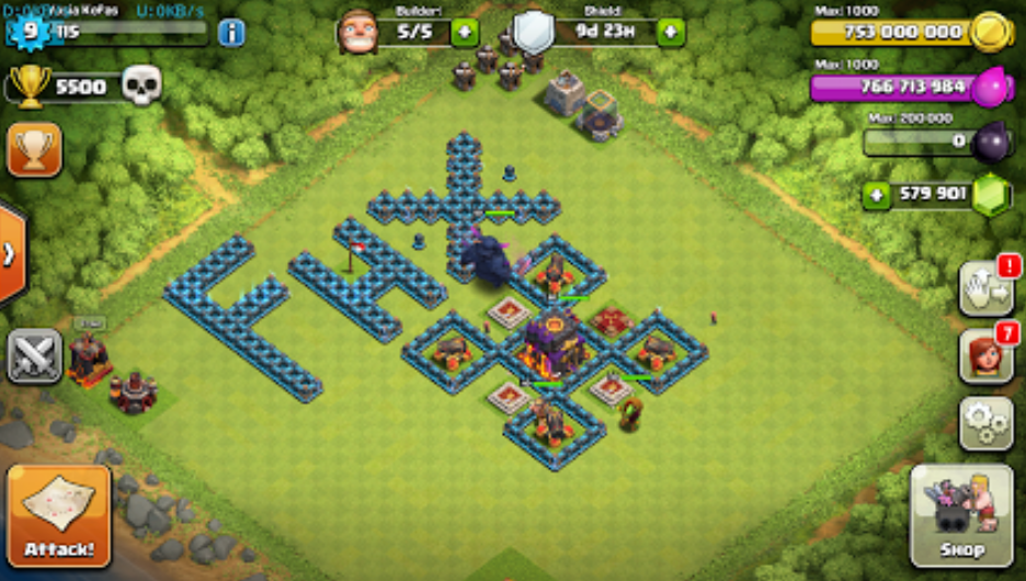 Download Clash Of Clans private server Fhx-v3.apk 2015