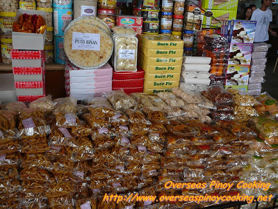 Delicacies from Tagalog Region