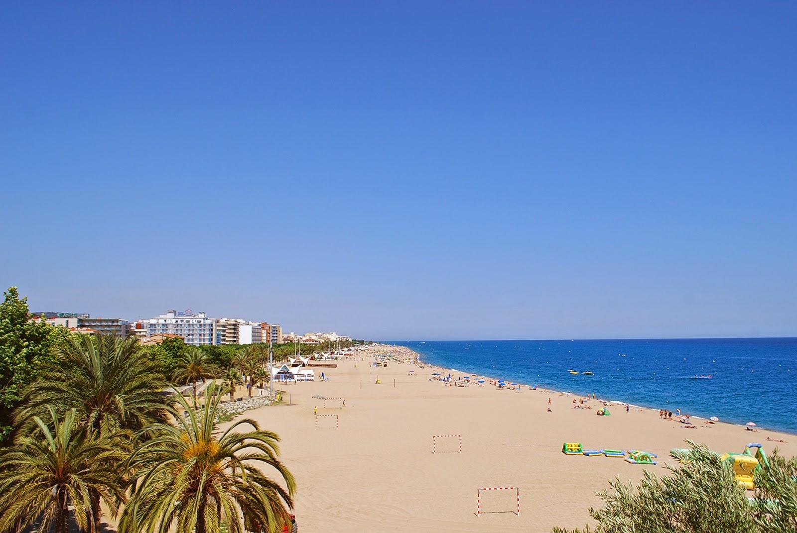 Калелья, Коста дель Маресме, Каталония, Испания. Calella, Costa del Maresme, Catalonia, Spain