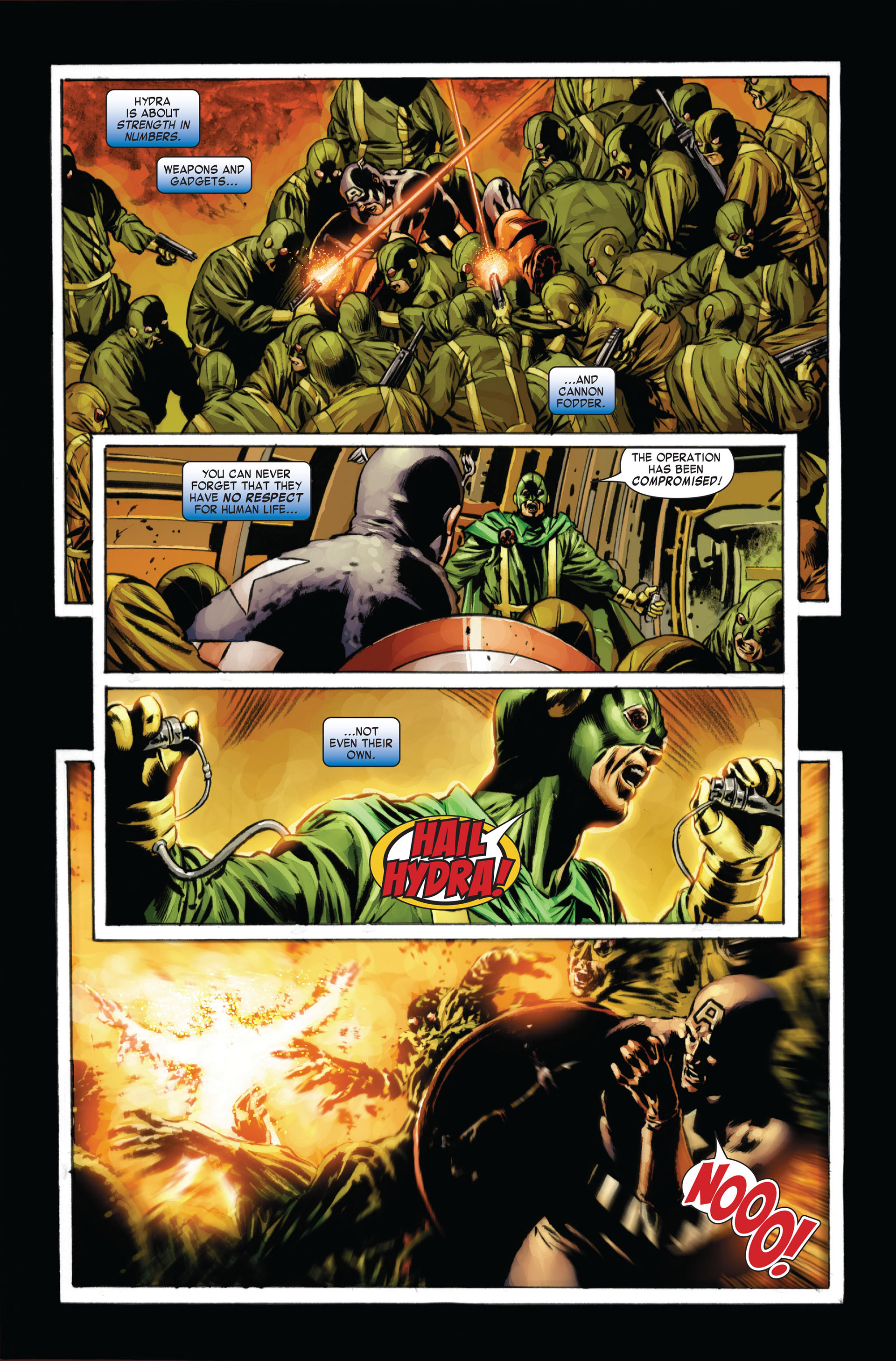 Captain America (2005) Issue #24 #24 - English 14