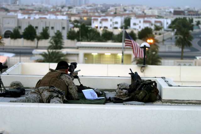 the cost of one us marine security guard for a us embassy