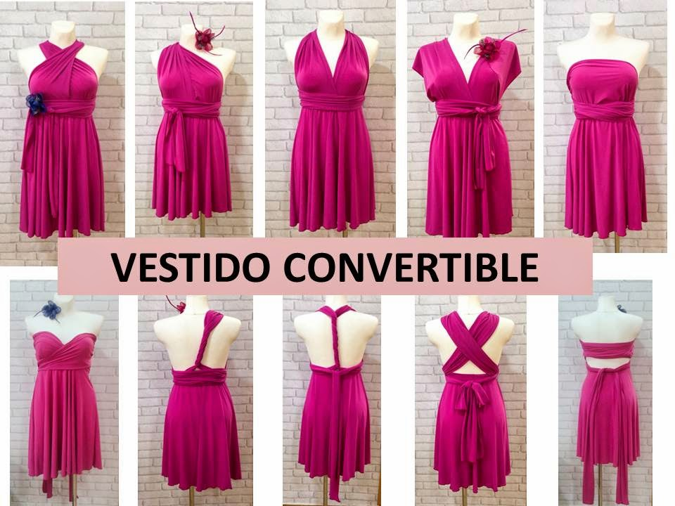 Mundo Garbo: Vestidos Convertibles