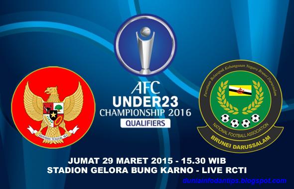 Indonesia vs    Brunei Darussalam Kualifikasi Piala Asia U-23