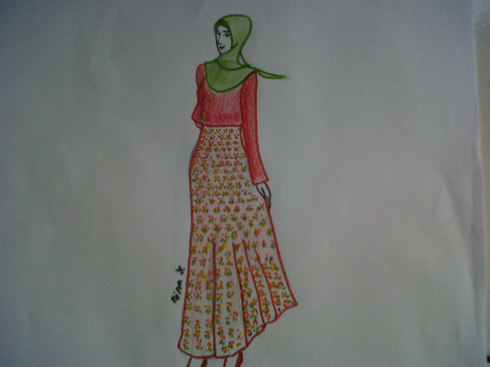 Gambar Ninananina Kartun Muslimah Collection Gambar Fashion Di