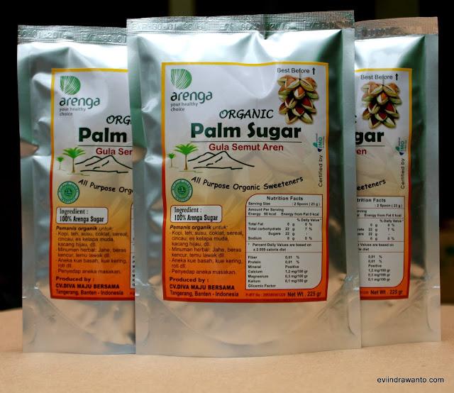 gula palem dalam kemasan