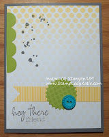"Cards made with the contents of Stampin'UP!'s ""My Paper Pumpkin"" Welcome Kit"