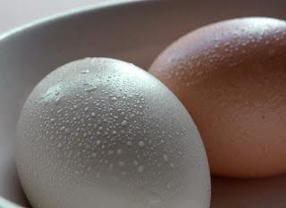 Huevos en el frigorifico