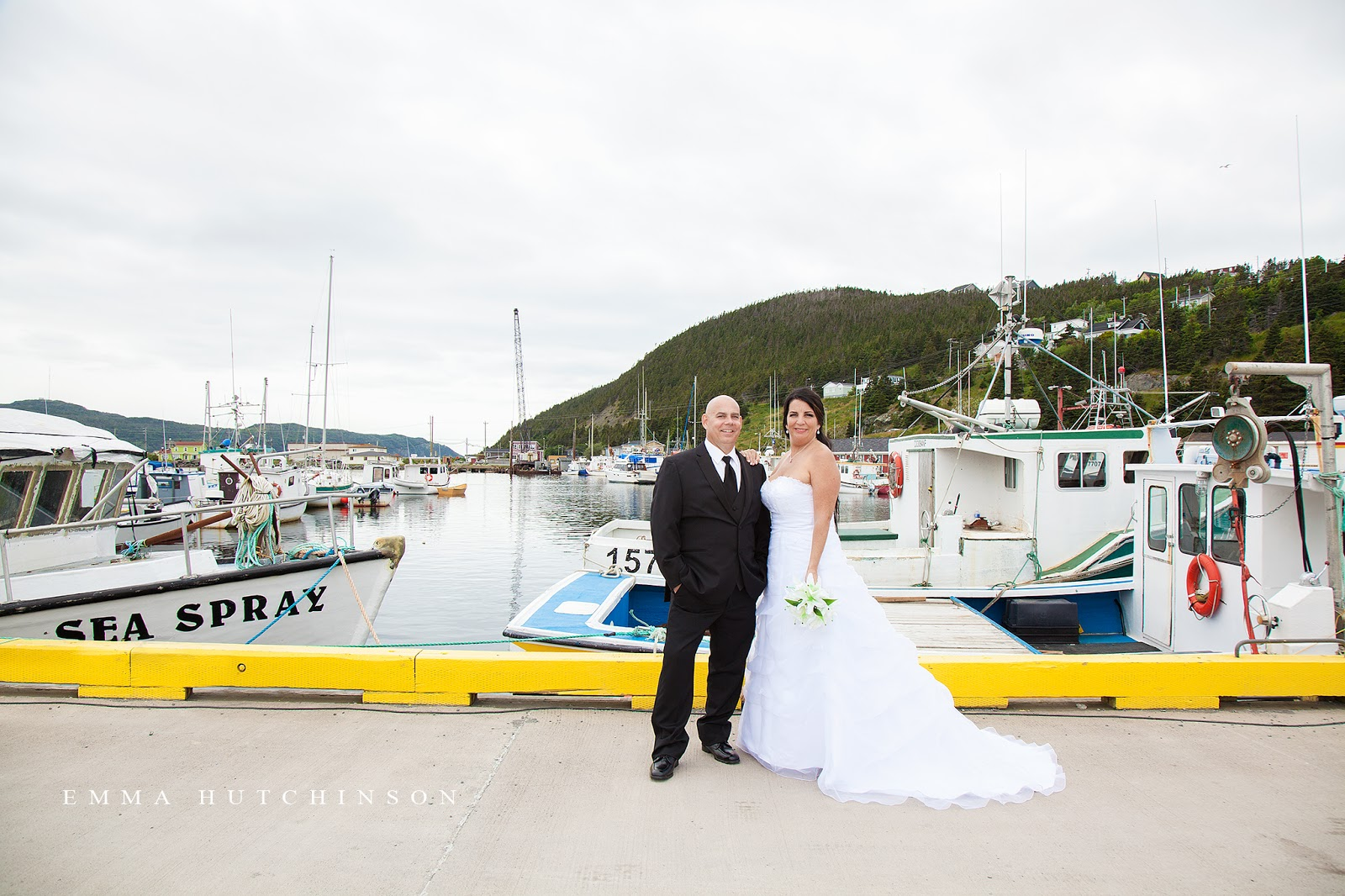 Newfoundland wedding photography in Placentia