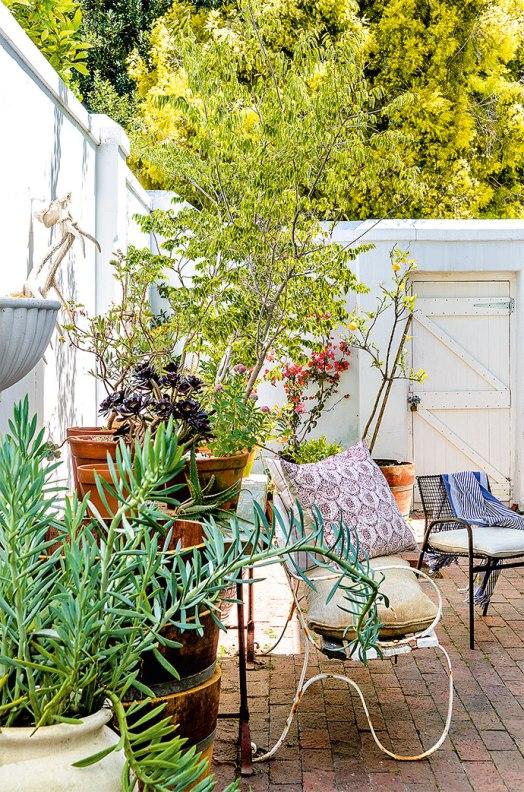 casa victoriana con patio