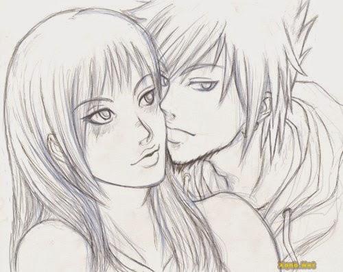 Một số bức tranh vẽ những nụ hôn đẹp