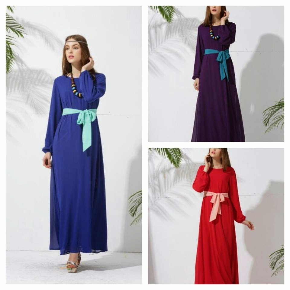 Classic Jubah With Belt
