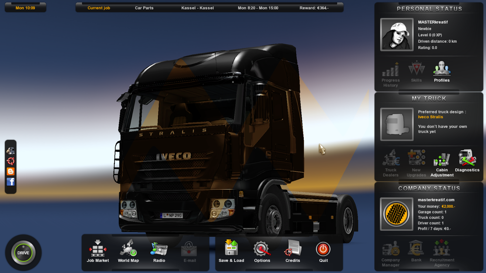 Game Euro Truck Simulator 2
