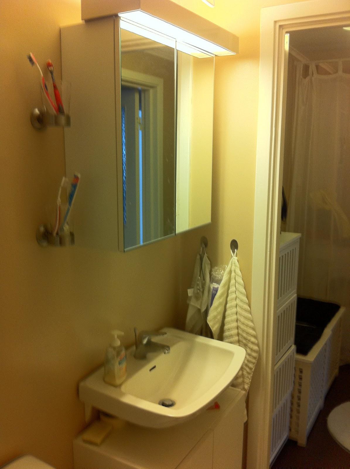 Hemmakär: budgetrenoveringen av badrummet klart!