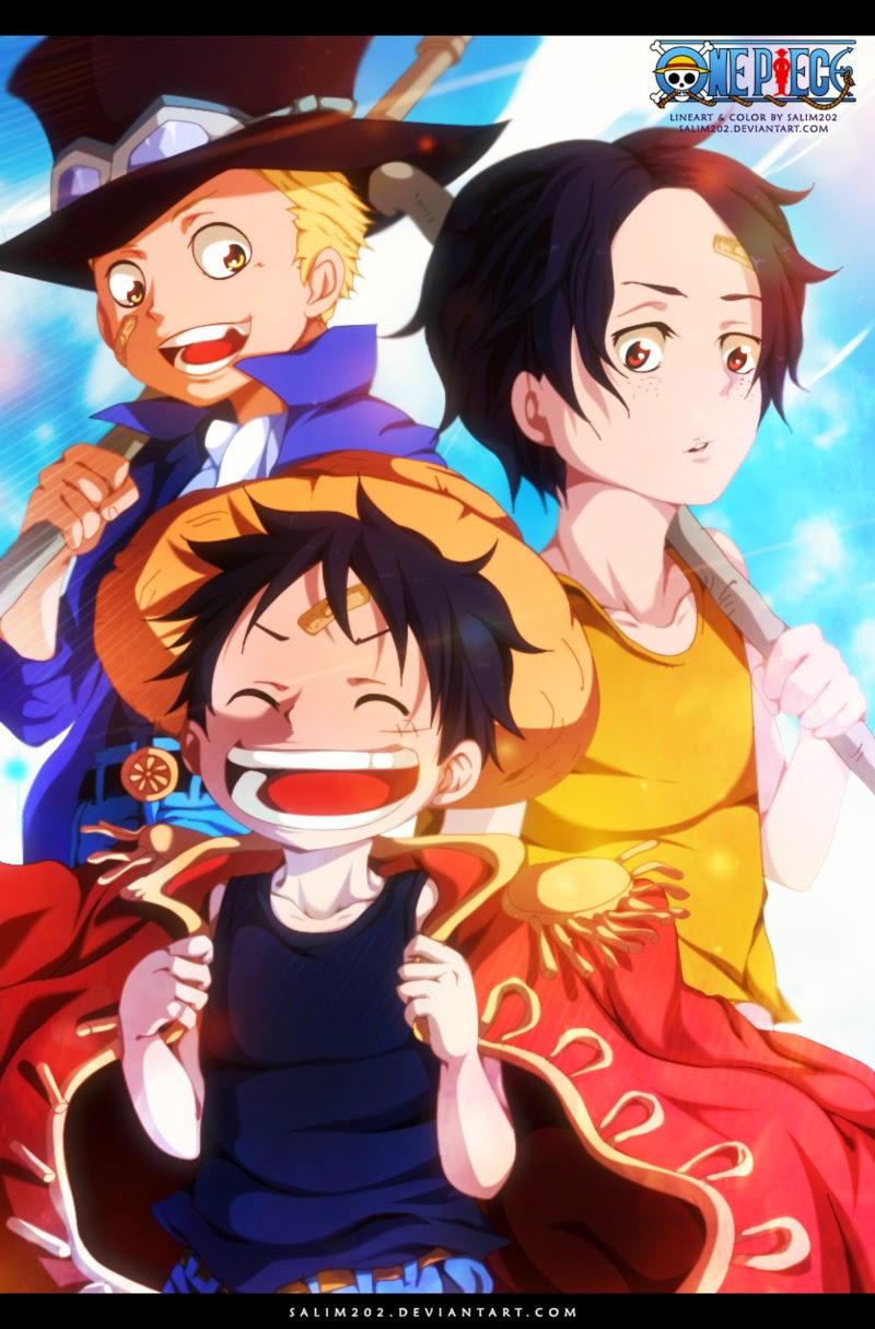 One Piece Chapter 754: Rất vui khi gặp lại cậu 021