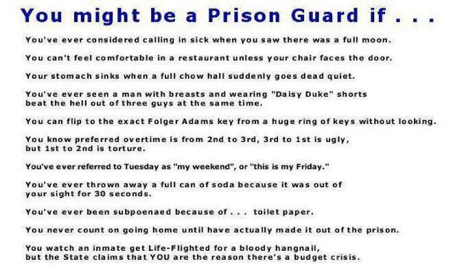 Prison guard quotes quotesgram - Correctional Officer Quotes Quotesgram