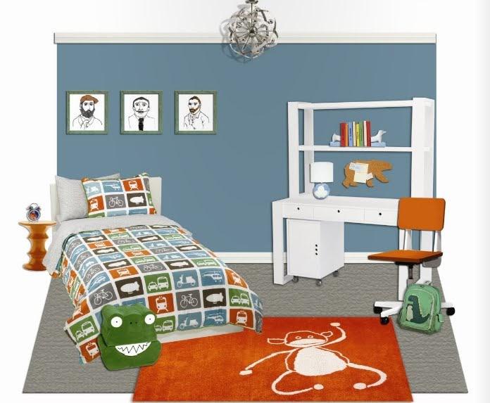 Dormitorio infantil escolar todo para tu bebe - Dormitorio infantil nino ...