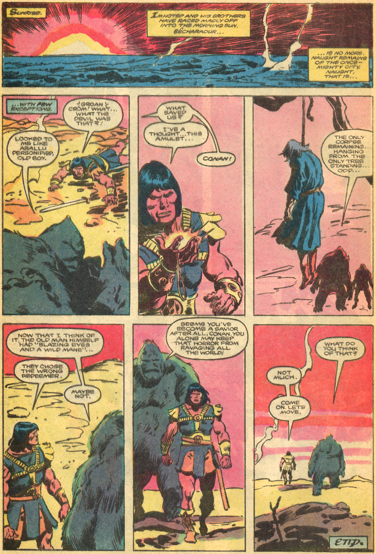Conan the Barbarian (1970) Issue #179 #191 - English 23