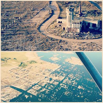 bandar yang tenggelam