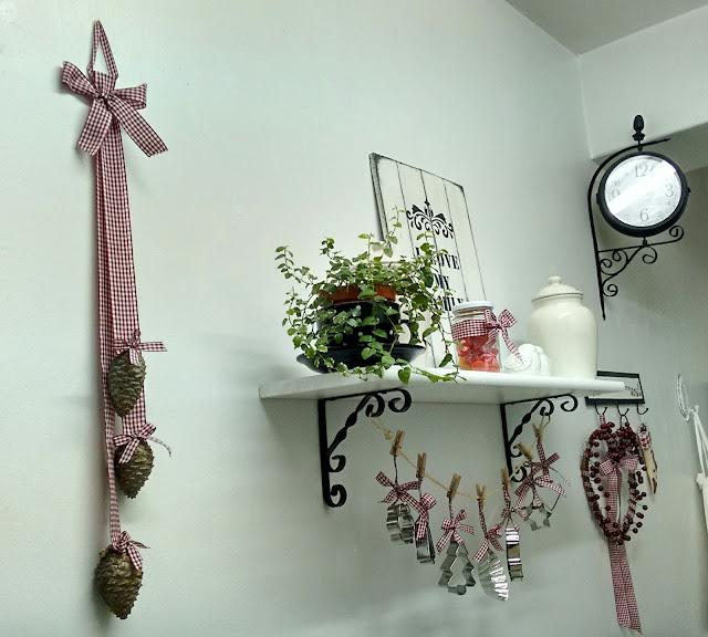 Dorcas ana manualidades decoraci n navide a en la cocina - Manualidades decoracion navidena ...
