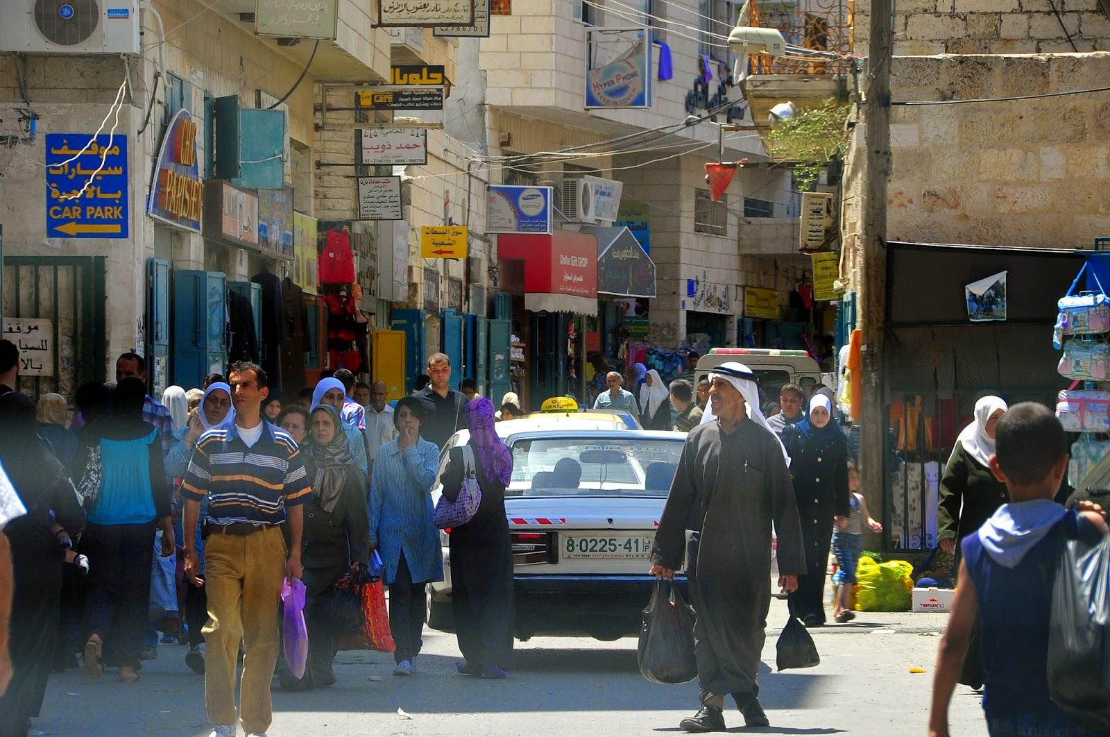 Über 85 prozent der bewohner bethlehems sind muslime