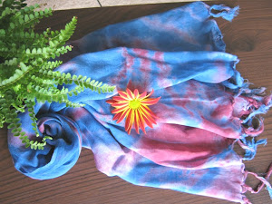 Tie Dyed Scarf