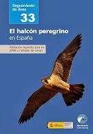 El halcón p. en España
