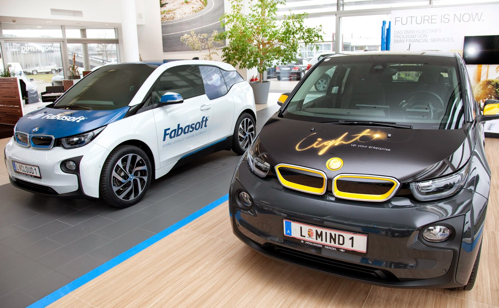 The Electric Bmw I3 Bmw I3 Wrapped And Ready