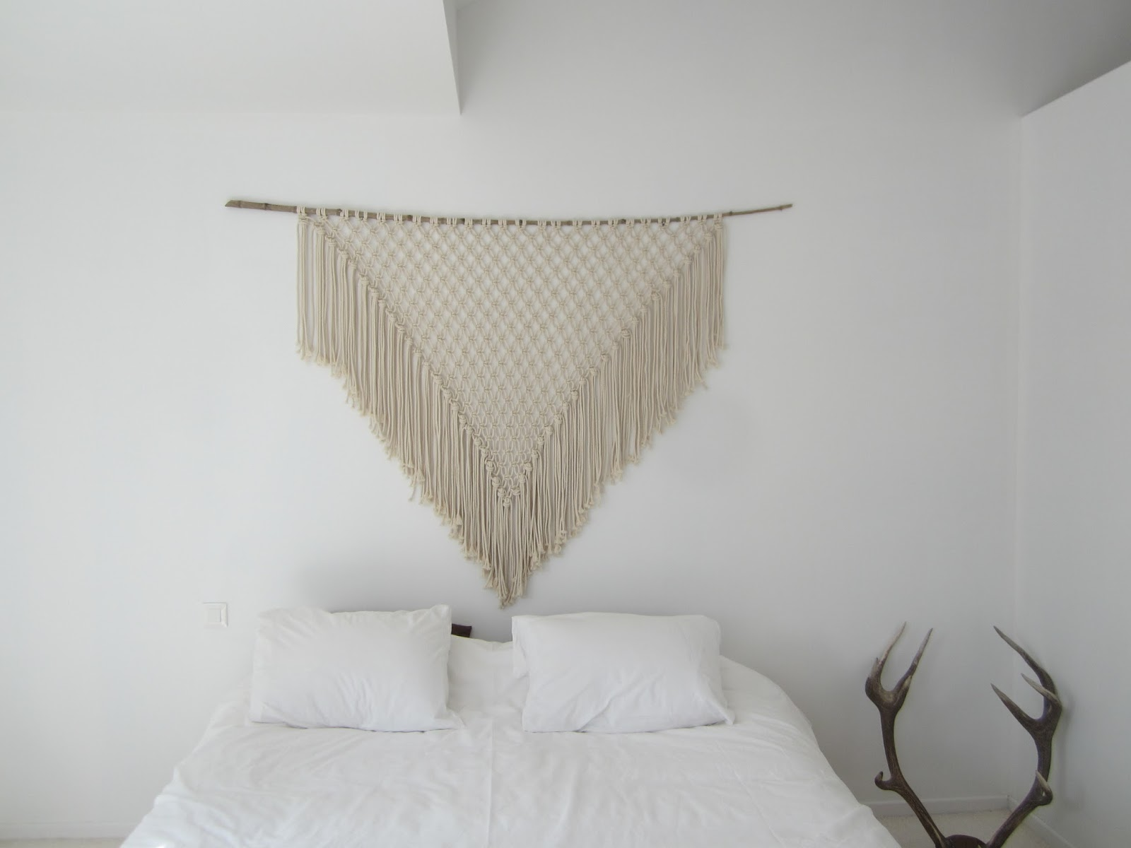 We are family octobre 2015 - Tete de lit macrame ...