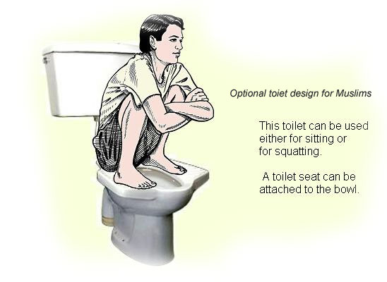 Wednesday  October 24  2012. A Muslim Reveals The Secrets of Islamic Toilet Rituals   The Dumb News