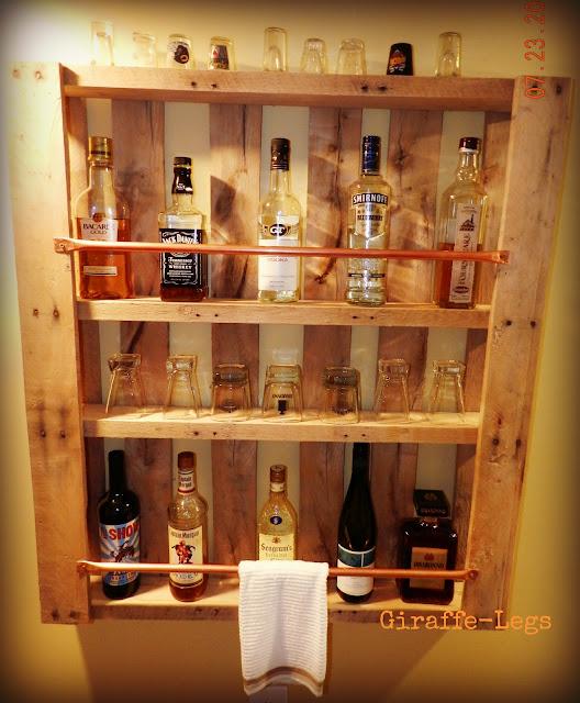DIY Pallet Bar