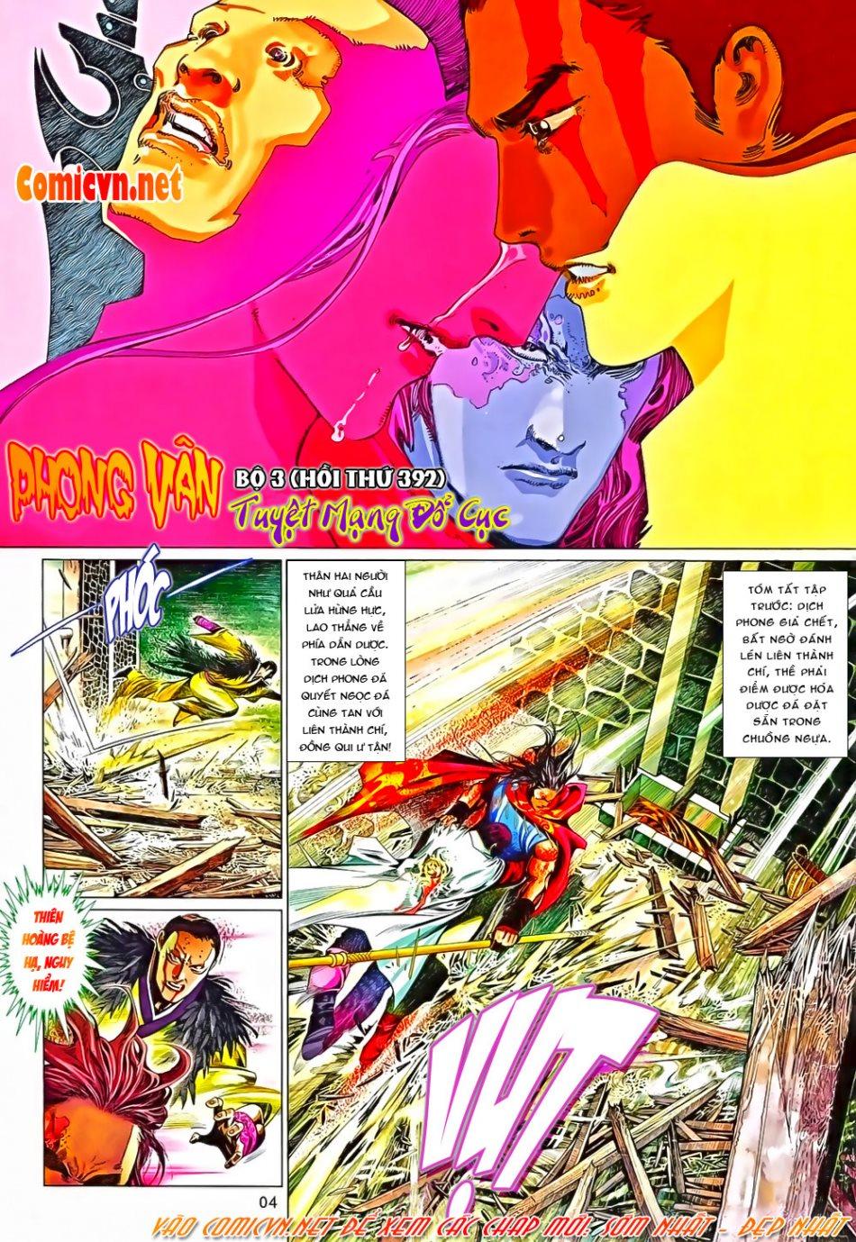 Phong Vân chap 650 Trang 4 - Mangak.info
