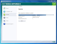 ESET NOD32 Antivirus Screenshot 1