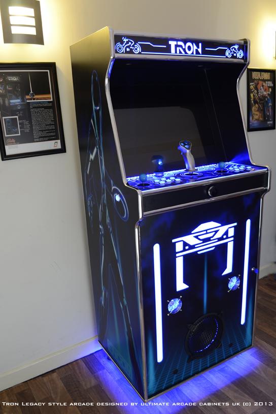 tron arcade cabinet mame