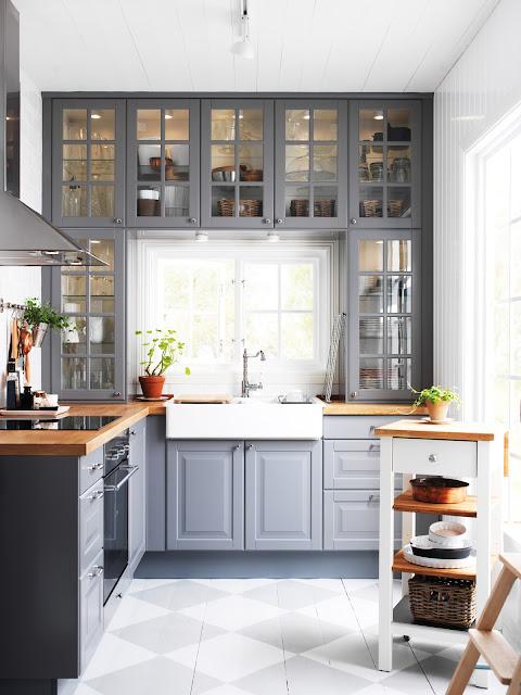 Decorar cocinas en gris