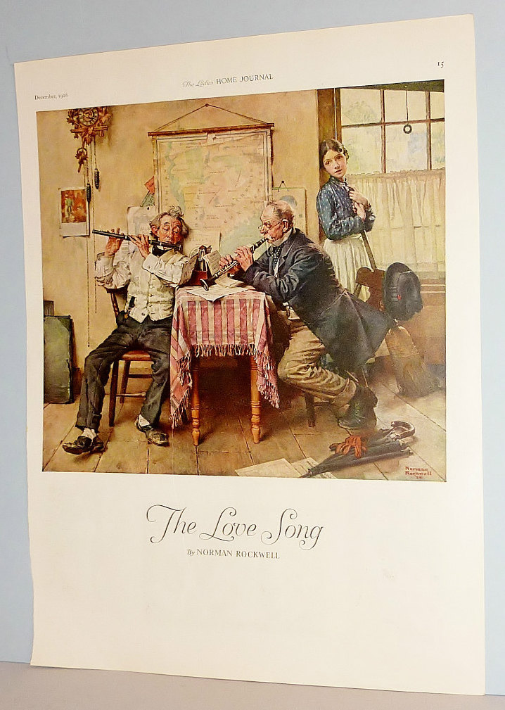norman rockwell the love song Norman rockwell collectible plates: picture gallery of norman rockwell art   spring - sweet song so young - norman rockwell four seasons - age of love.